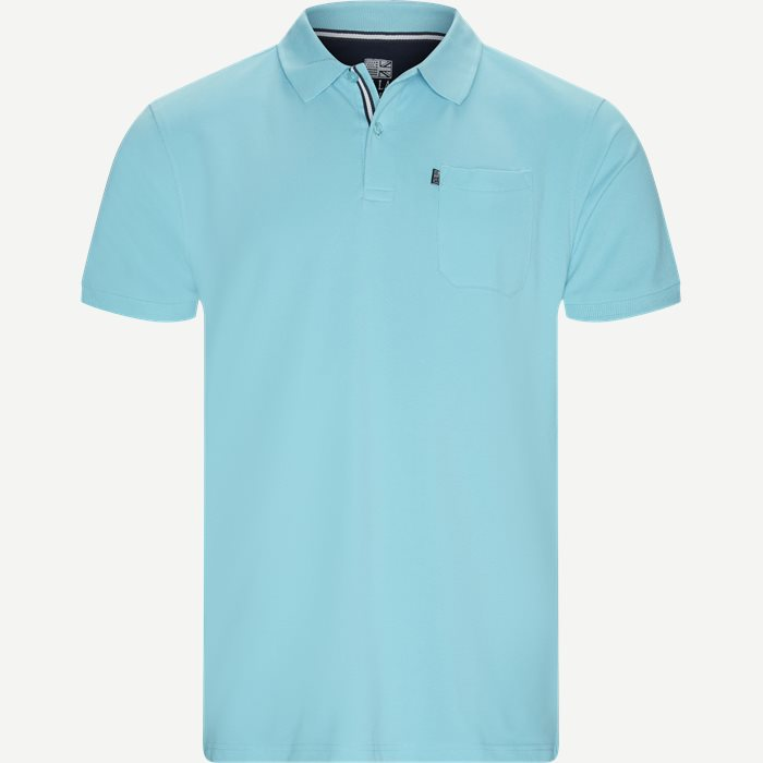 Polo T-shirt - T-shirts - Regular - Turkis