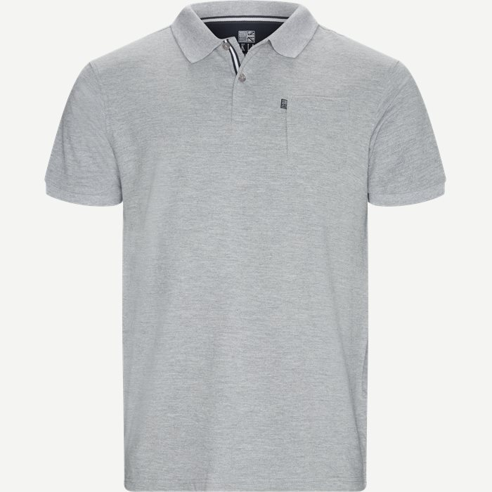 Polo T-shirt - T-shirts - Regular - Grå