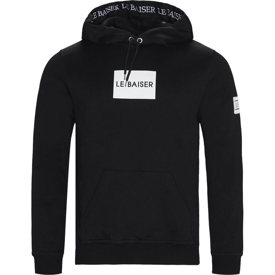 BRYLEE - Brylee Hoodie  - Sweatshirts - Regular - BLACK - 1