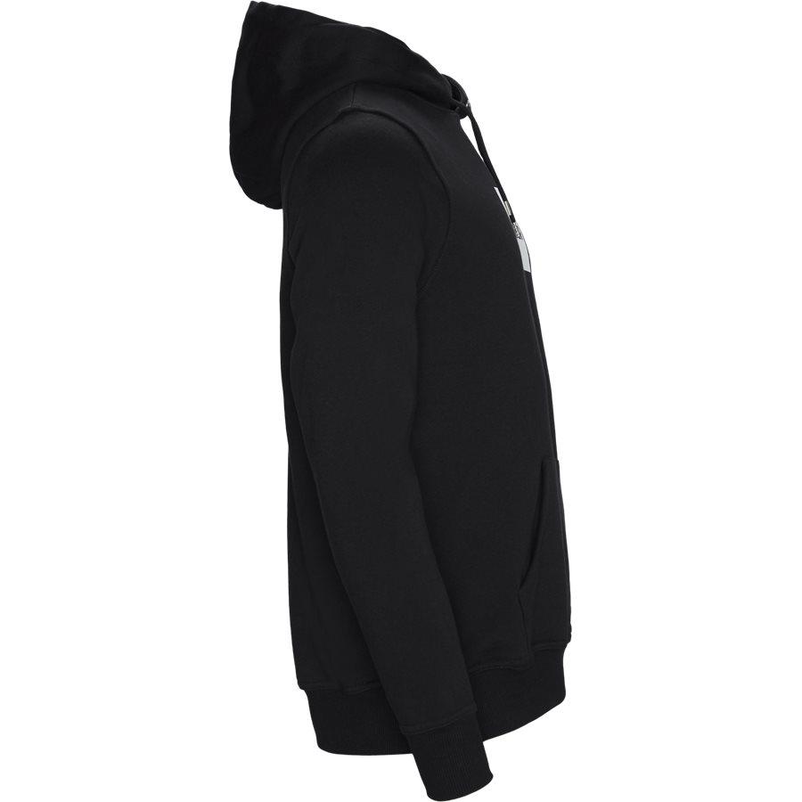 BRYLEE - Brylee Hoodie  - Sweatshirts - Regular - BLACK - 3
