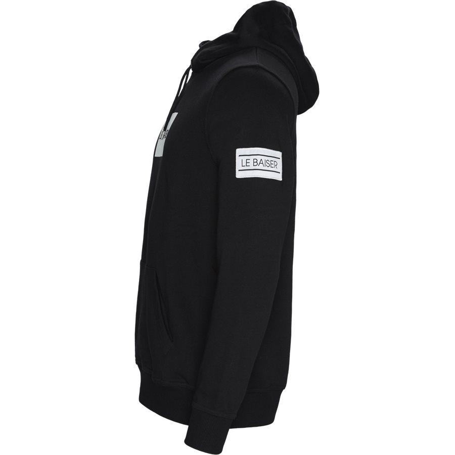 BRYLEE - Brylee Hoodie  - Sweatshirts - Regular - BLACK - 4