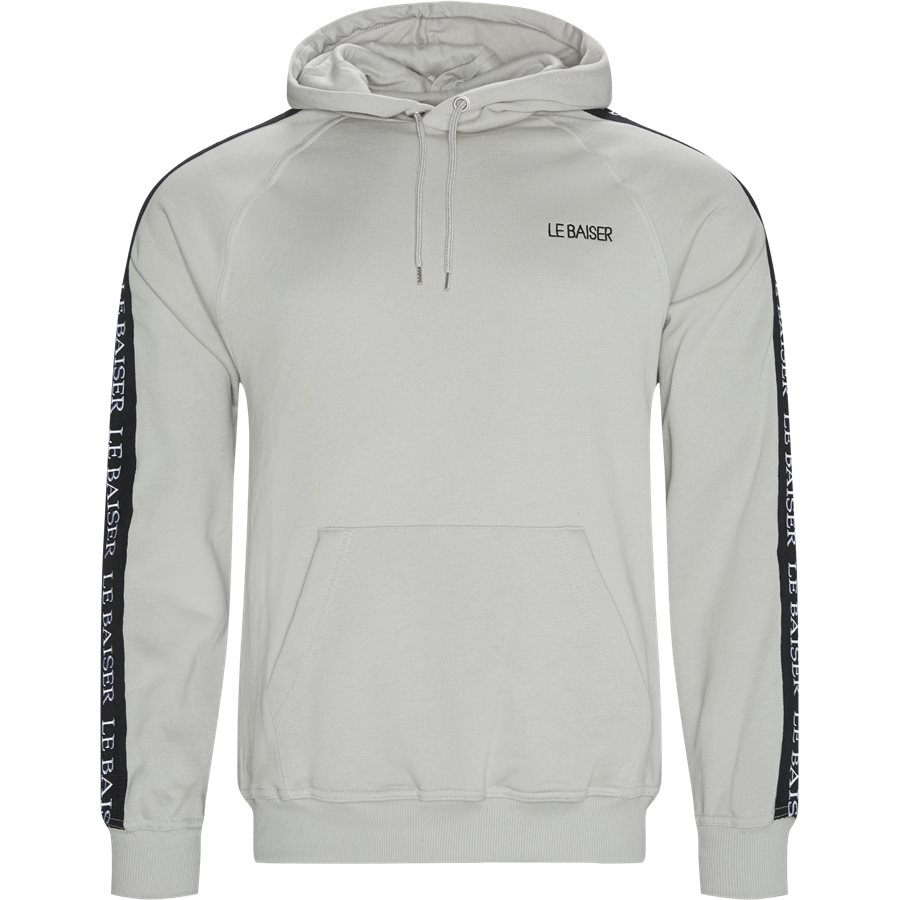 ALSACE - Alsace Hoodie - Sweatshirts - Regular - M.GREY - 1