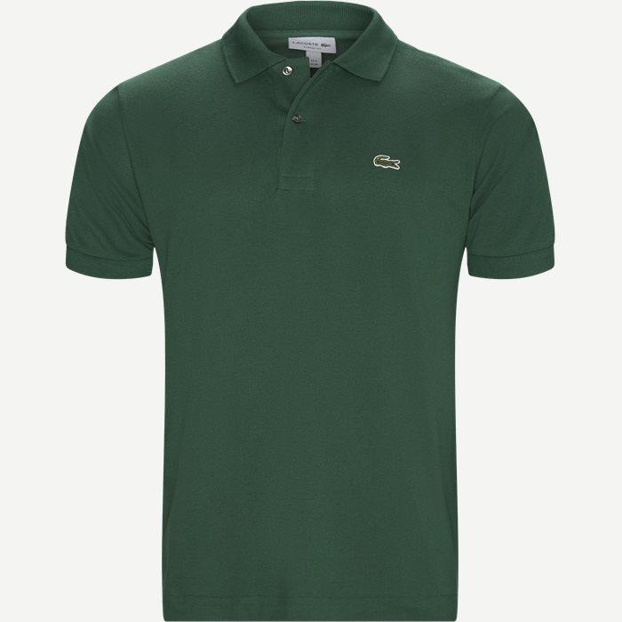 T-shirts - Classic fit - Grön
