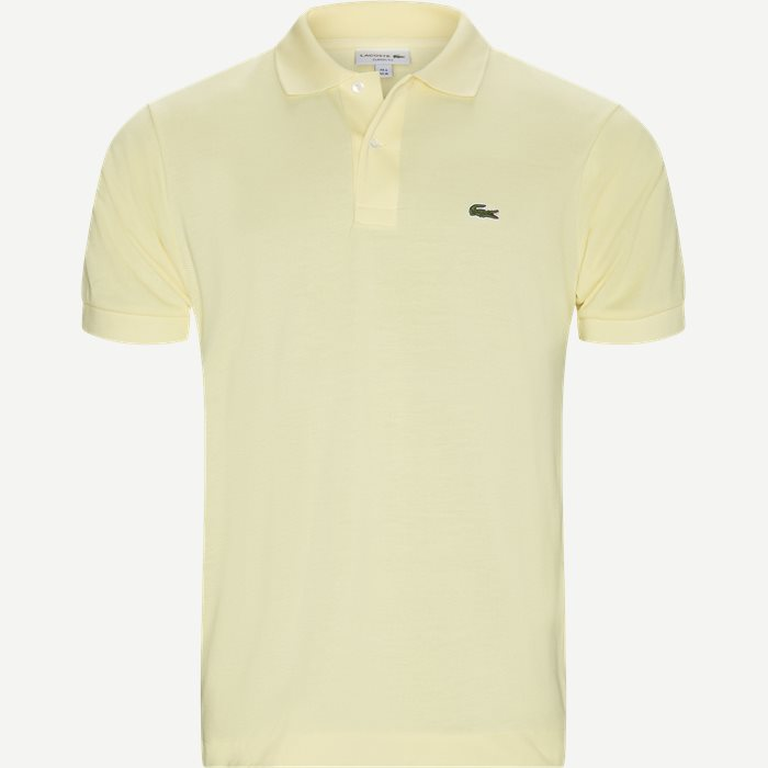 Pique Classic Polo T-shirt - T-shirts - Classic fit - Gul