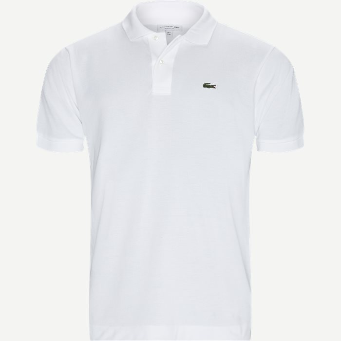 Pique Classic Polo T-shirt - T-shirts - Classic fit - Hvid