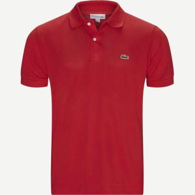 Pique Classic Polo T-shirt Classic fit | Pique Classic Polo T-shirt | Rød