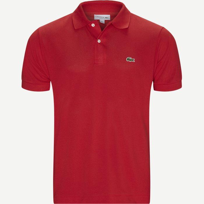 T-shirts - Classic fit - Röd