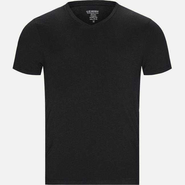 Bamboo V-neck T-shirt 2-Pack
