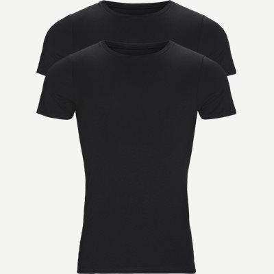 Bamboo Crew Neck T-shirt 2-pack Regular | Bamboo Crew Neck T-shirt 2-pack | Sort