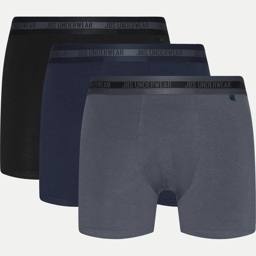 1080-51 BAMBOO 3-PACK TIGHTS - Bamboo 3-Pack Tights - Undertøj - Regular - SORT/NAVY/GRÅ - 1