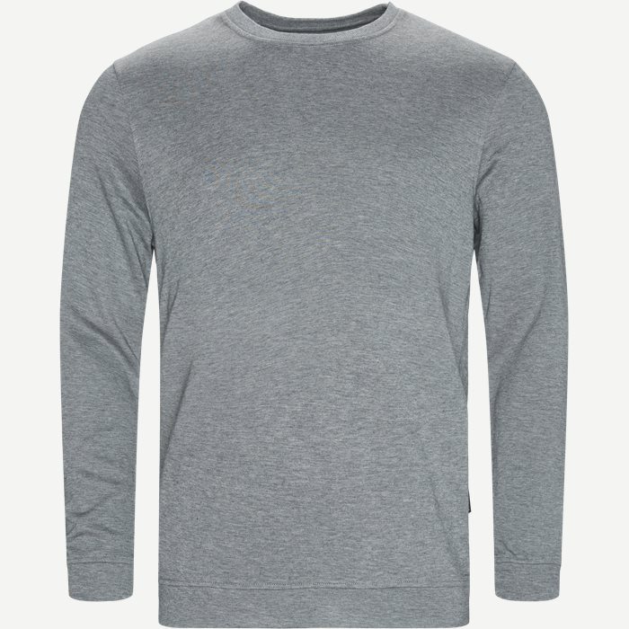 Bamboo Blend Sweatshirt - Undertøj - Regular - Grå