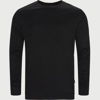 Bamboo Blend Sweatshirt Regular | Bamboo Blend Sweatshirt | Sort