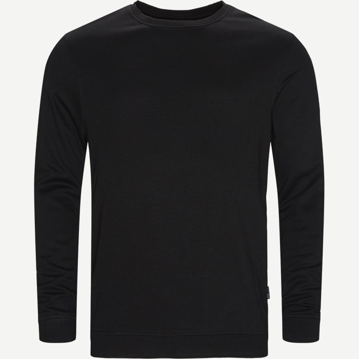Bamboo Blend Sweatshirt - Undertøj - Regular - Sort