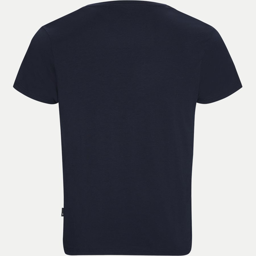 120-20 BOMBOO BLEND V-NECK - Bamboo Blend V-neck T-shirt - Undertøj - Regular - NAVY - 2