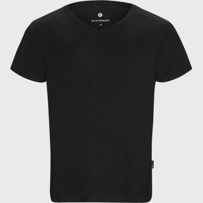 Bamboo Blend V-neck T-shirt Regular | Bamboo Blend V-neck T-shirt | Sort