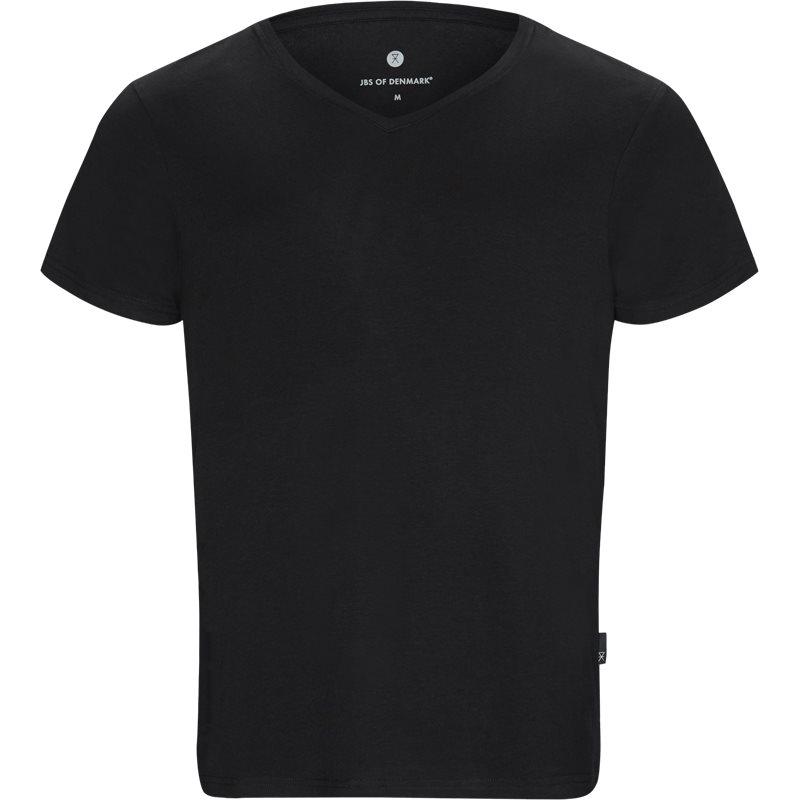 jbs – Jbs - bamboo blend v-neck t-shirt på kaufmann.dk