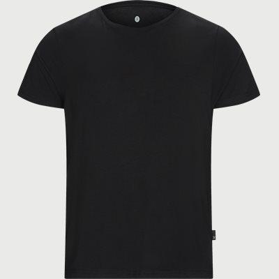 Bamboo Blend Crew Neck T-shirt Regular | Bamboo Blend Crew Neck T-shirt | Sort