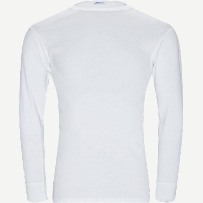 Original Langærmet T-shirt - Undertøj - Regular - Hvid