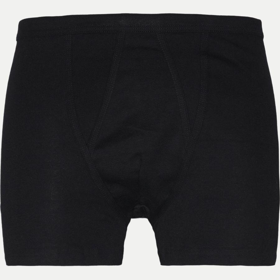 338-6 SHORT LEGS WITH FLY - Short Legs With Fly Tights - Undertøj - Regular - SORT - 1