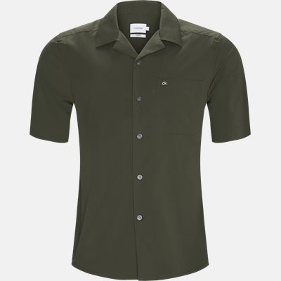 Relaxed fit | Shirt-sleeved shirts | Green