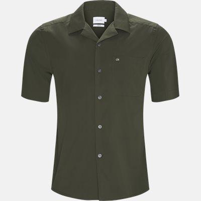 Relaxed fit | Kortærmede skjorter | Grøn