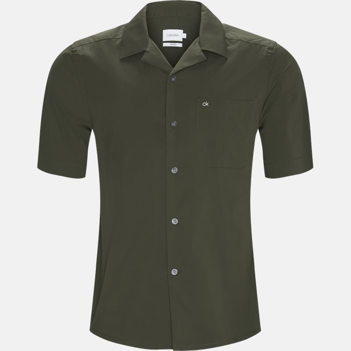Short-sleeved shirts - Relaxed fit - Green