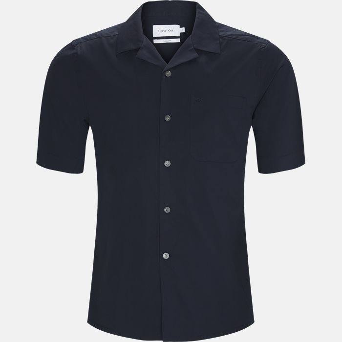 Shirt-sleeved shirts - Relaxed fit - Blue