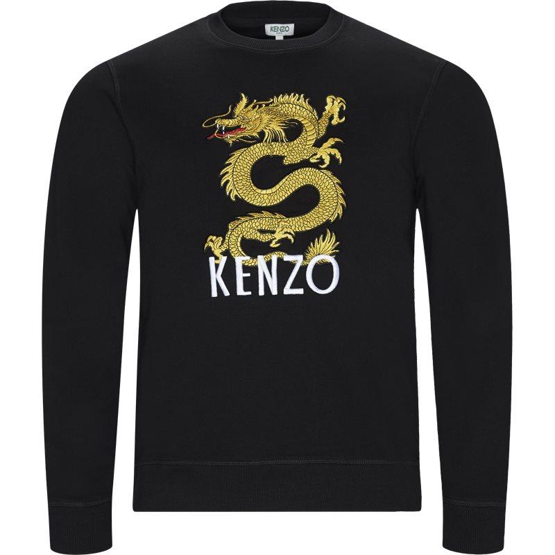 kenzo – Kenzo regular fit f955sw3104u4 sweatshirts sort fra axel.dk
