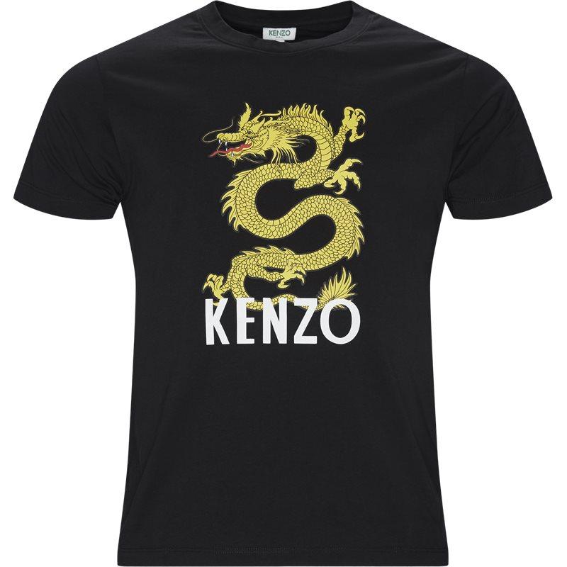 Billede af Kenzo F955TS0184V4 DRAGON T-shirts Sort