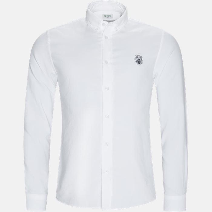 Skjorter - Casual fit - Hvid