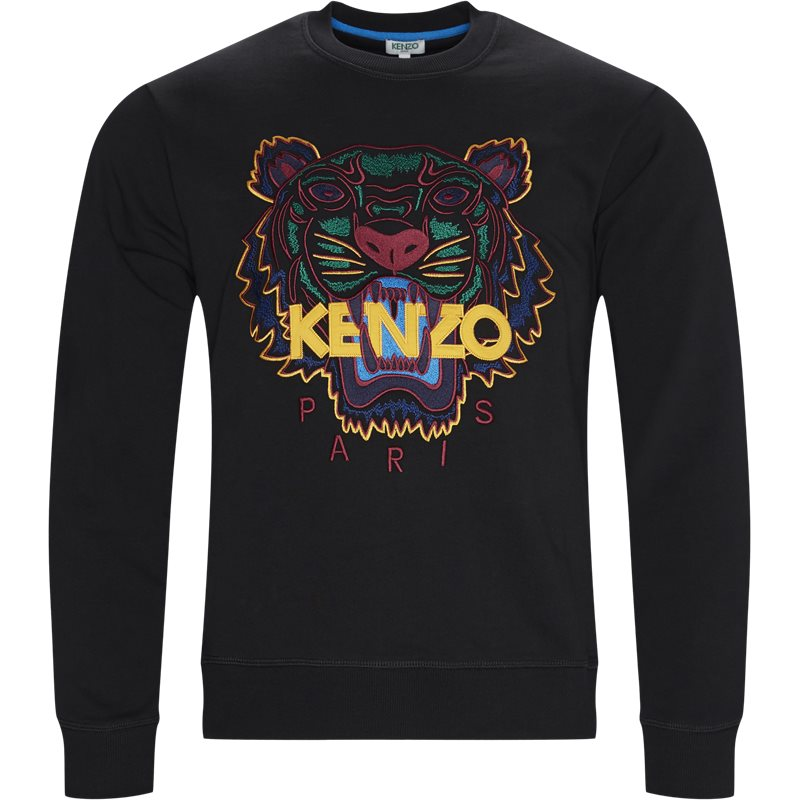 Image of   Kenzo Regular slim fit SW001414XA Sweatshirts Sort