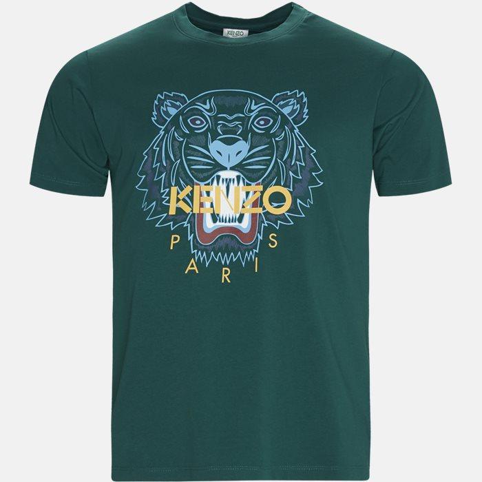 T-shirts - Slim - Green