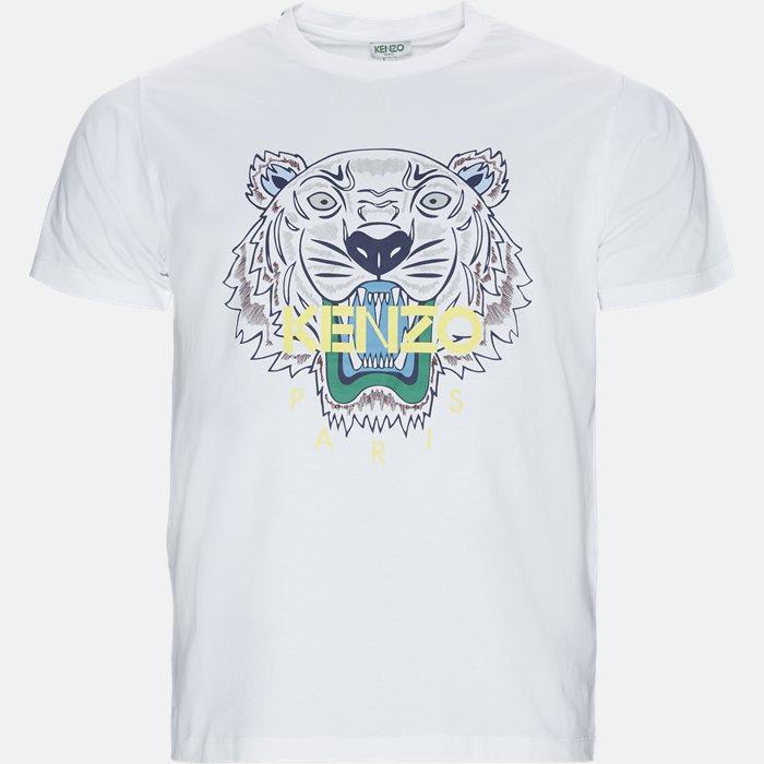T-shirts - Slim - Hvid