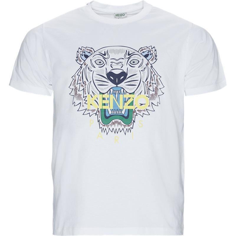 kenzo – Kenzo slim tso504ya t-shirts hvid på axel.dk