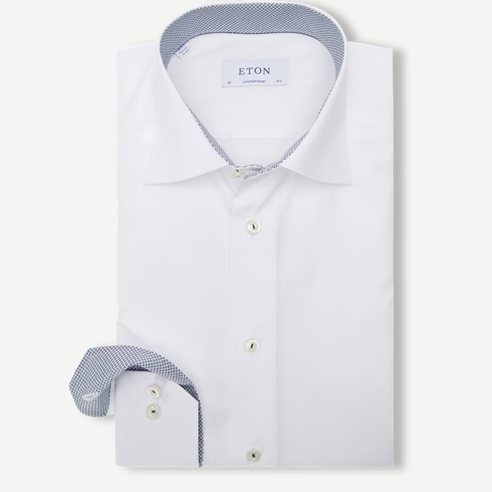 Shirts - Contemporary fit - White