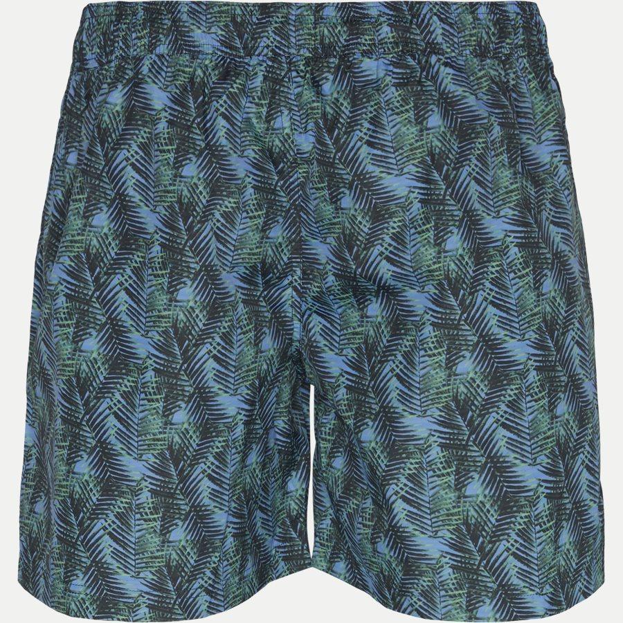 3077 SWIMTRUNK PALM PRINT - Badeshorts - Shorts - Regular - GRØN - 2