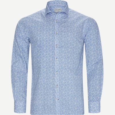 Alkins Skjorte Slim | Alkins Skjorte | Blå