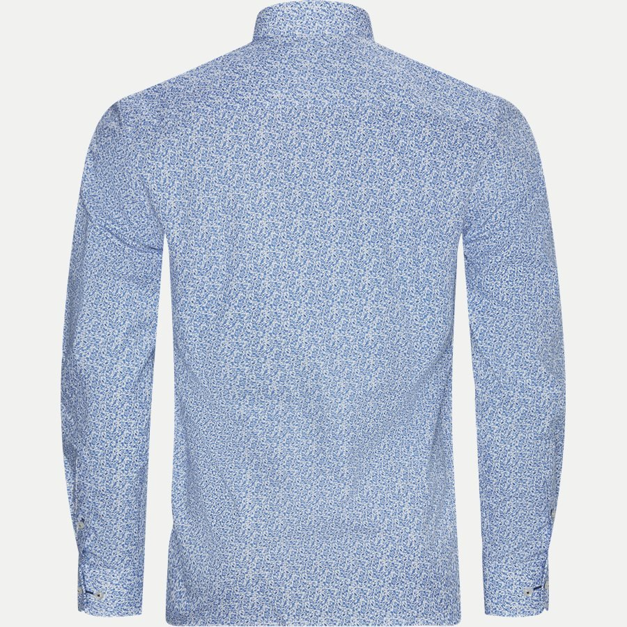 BS ALKINS - Alkins Skjorte - Skjorter - Slim - BLÅ - 2