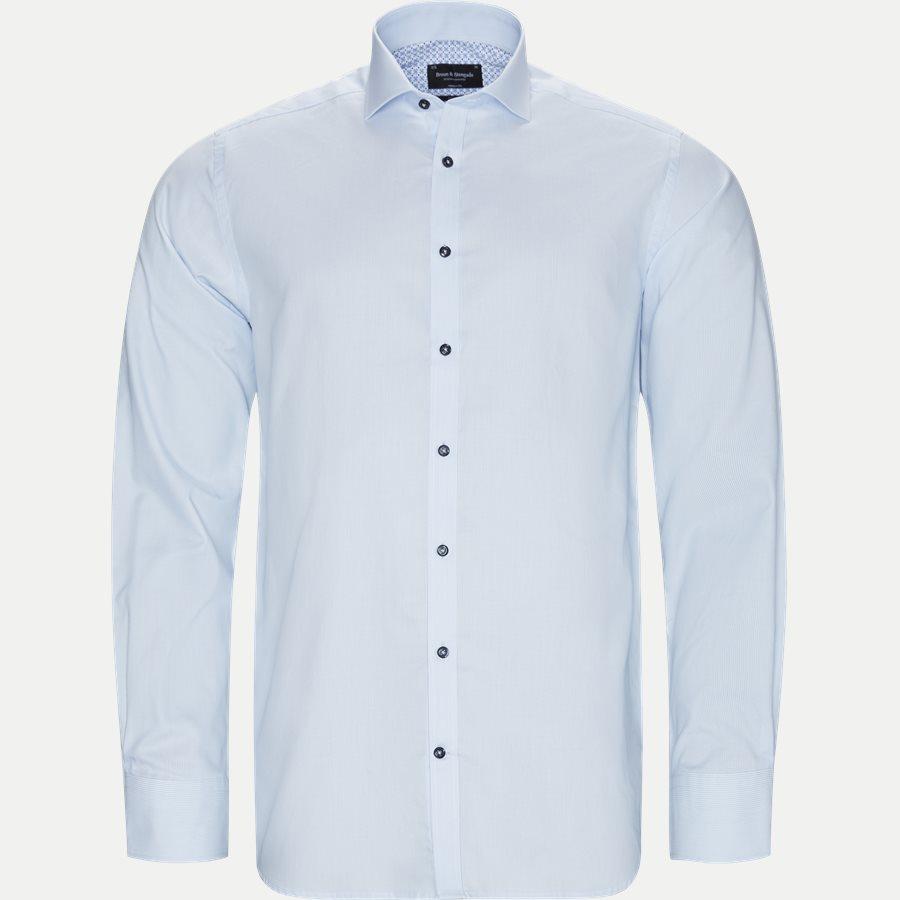 KAZAN - Kazan Skjorte - Skjorter - Modern fit - LYSBLÅ - 1