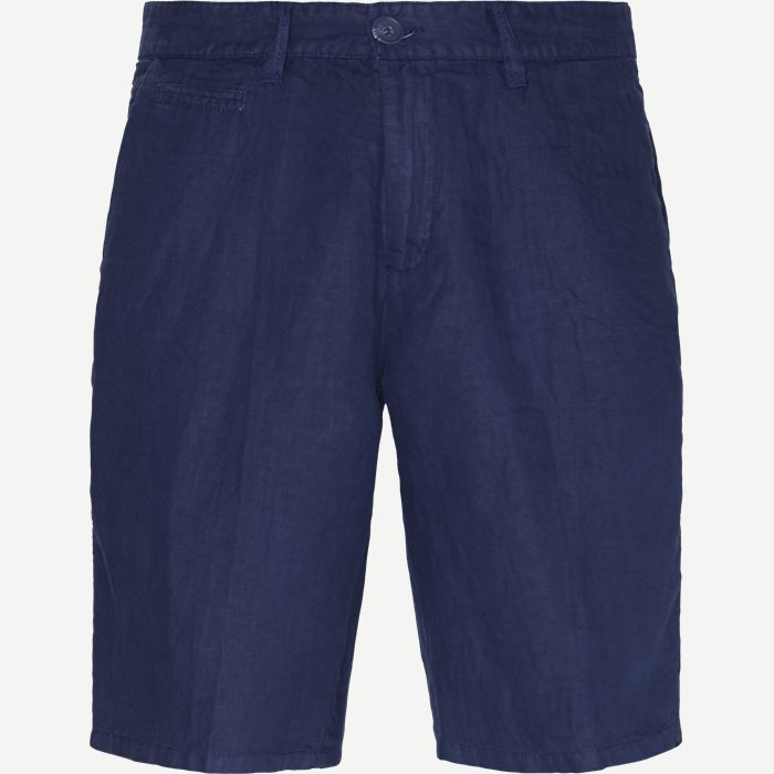 Hørshorts - Shorts - Regular - Blå