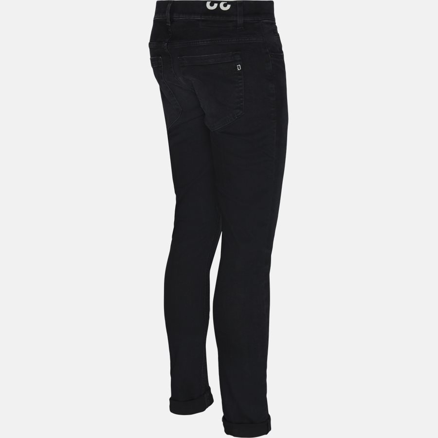UP232 DS0249 W46 - Jeans - Skinny fit - GRÅ - 3