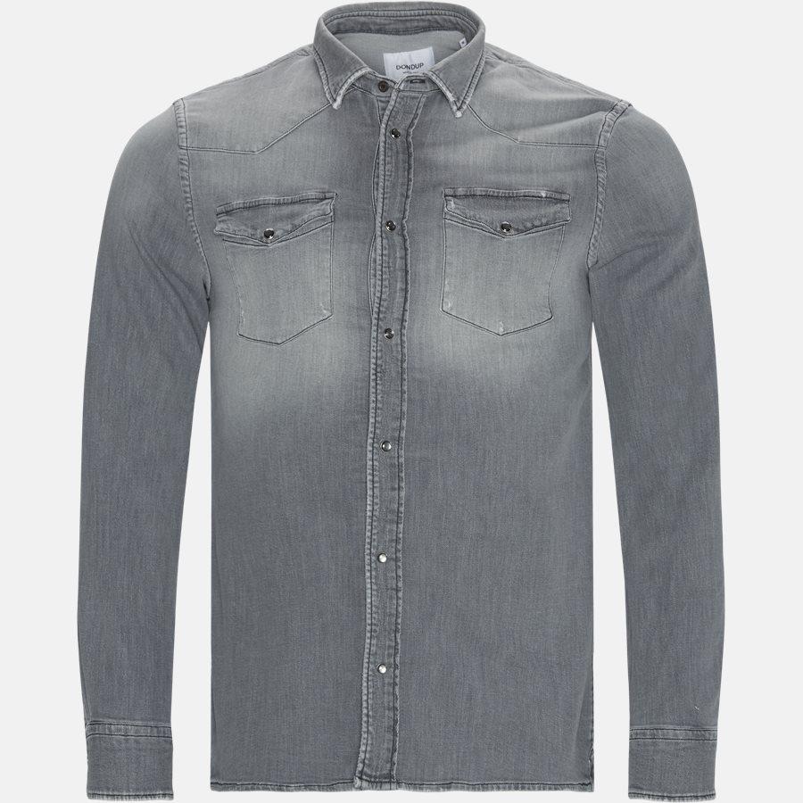 UC0173 DS217 Z13  - Skjorter - Regular fit - GRÅ - 1