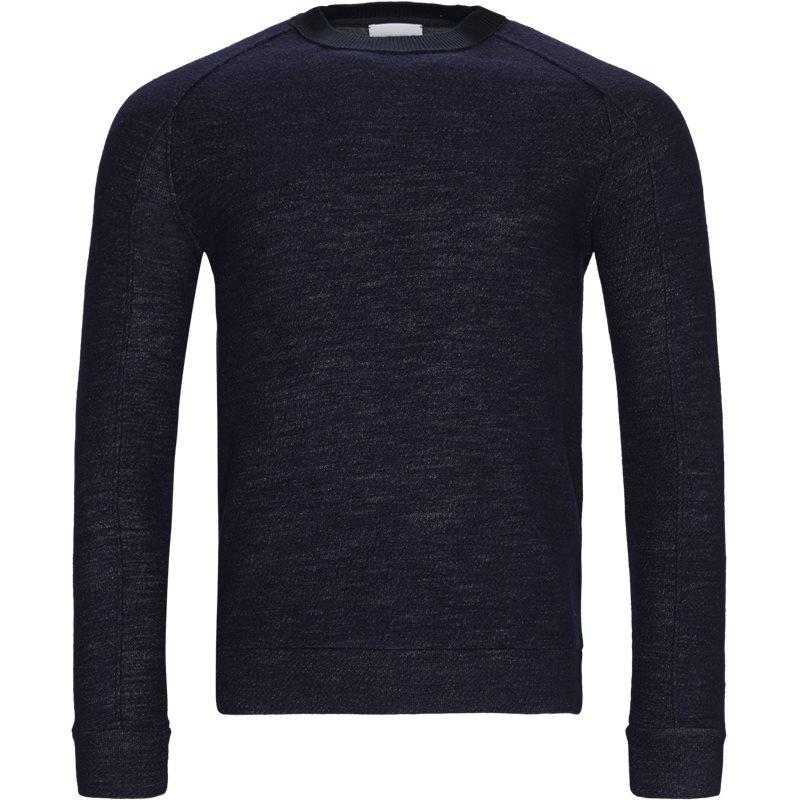 Dondup uf0595 kf155 002 sweatshirts navy fra dondup på axel.dk