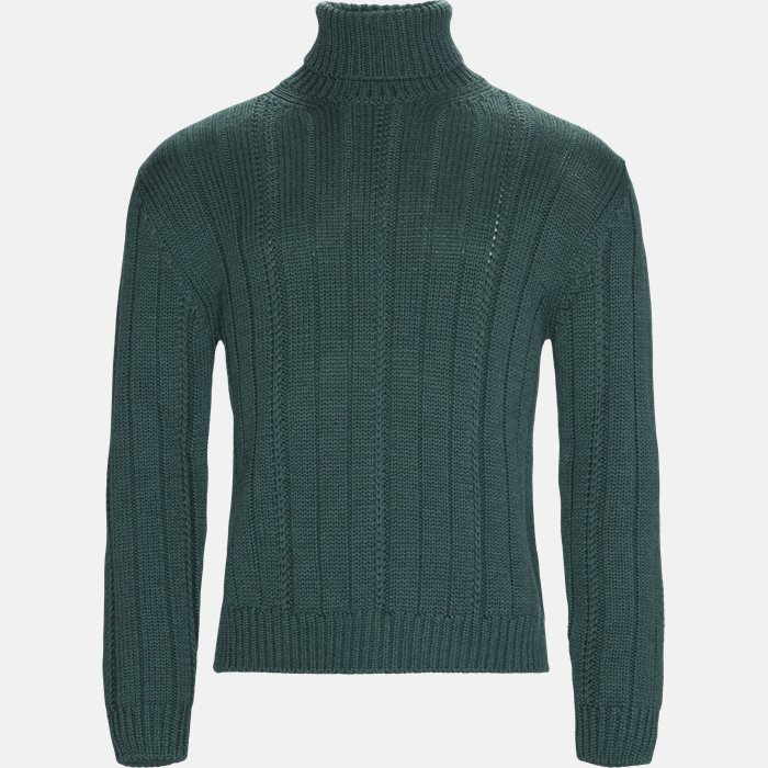 Knitwear - Regular fit - Green