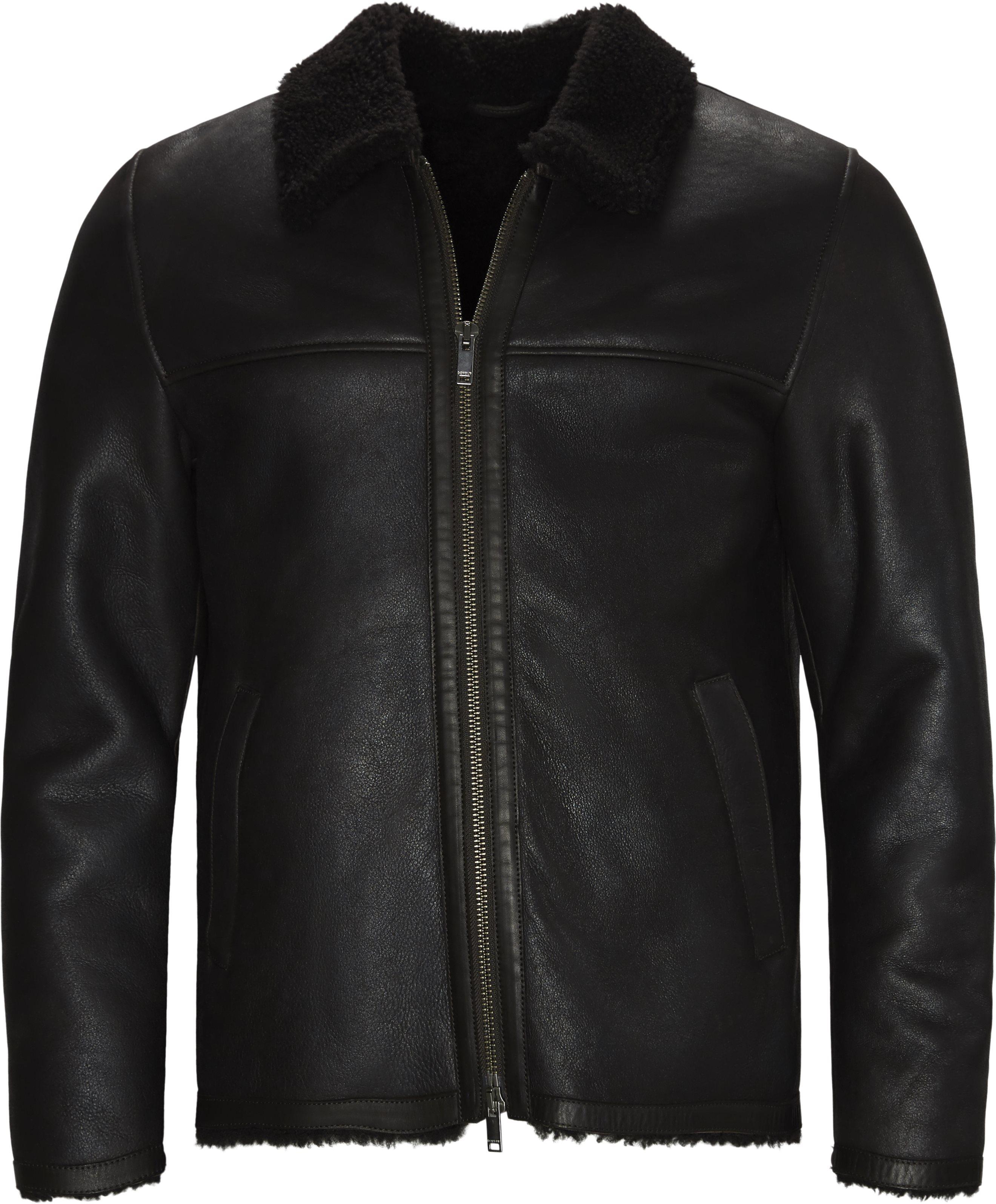 Jackets - Regular fit - Brown