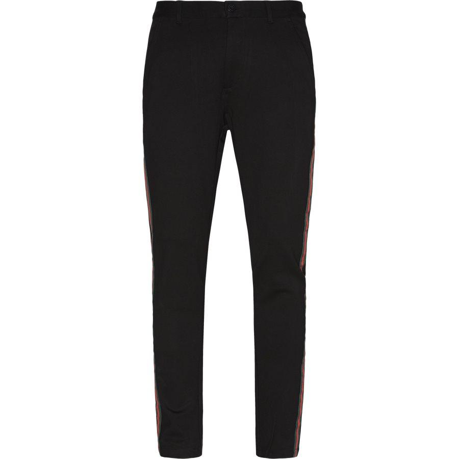 ESCAPE - Escape Pants  - Bukser - Tapered fit - SORT - 2