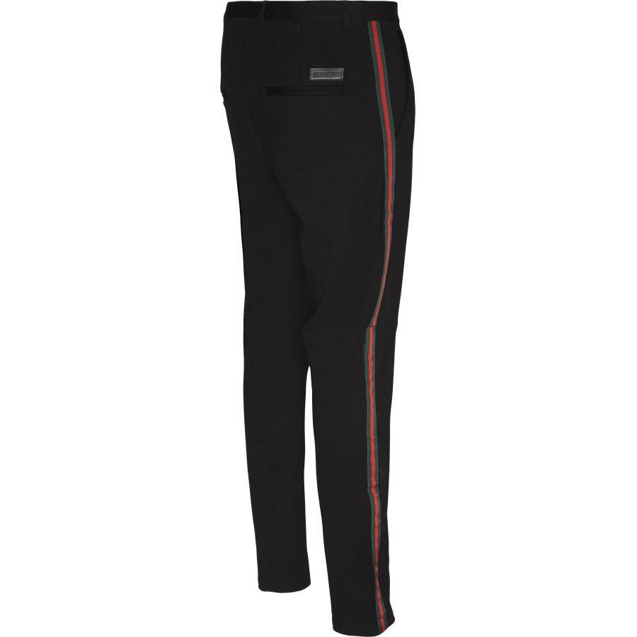ESCAPE - Escape Pants  - Bukser - Tapered fit - SORT - 4