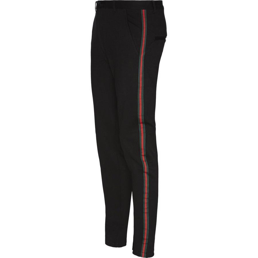 ESCAPE - Escape Pants  - Bukser - Tapered fit - SORT - 1