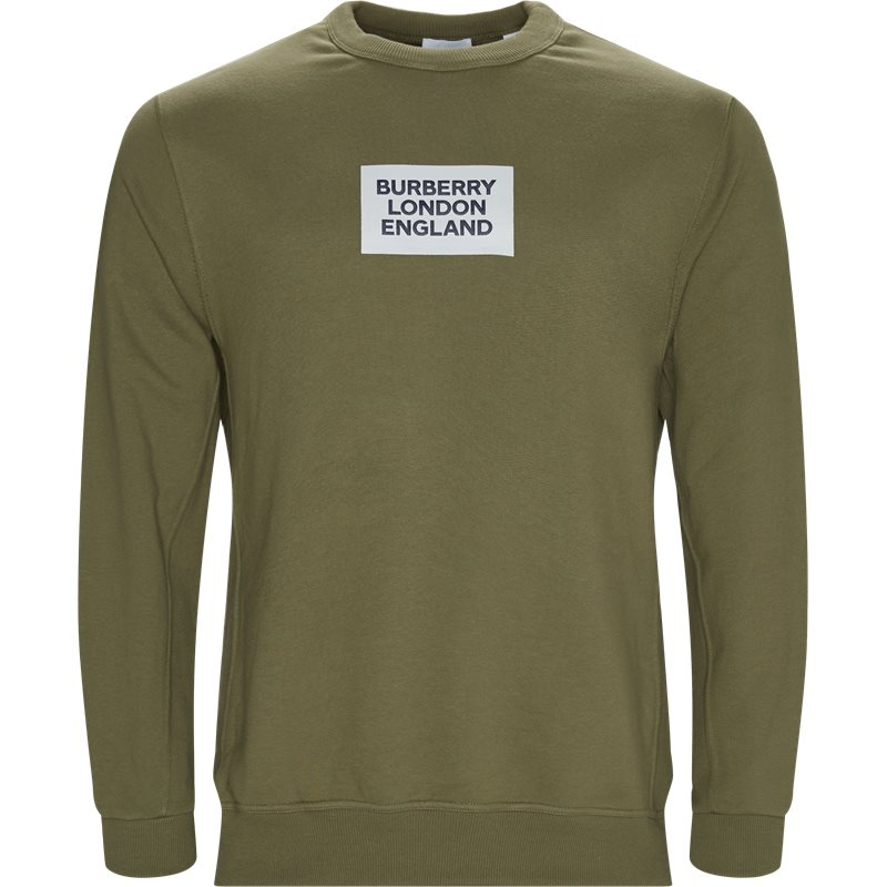 Burberry m:farlow p84217 sweatshirts army fra burberry på axel.dk