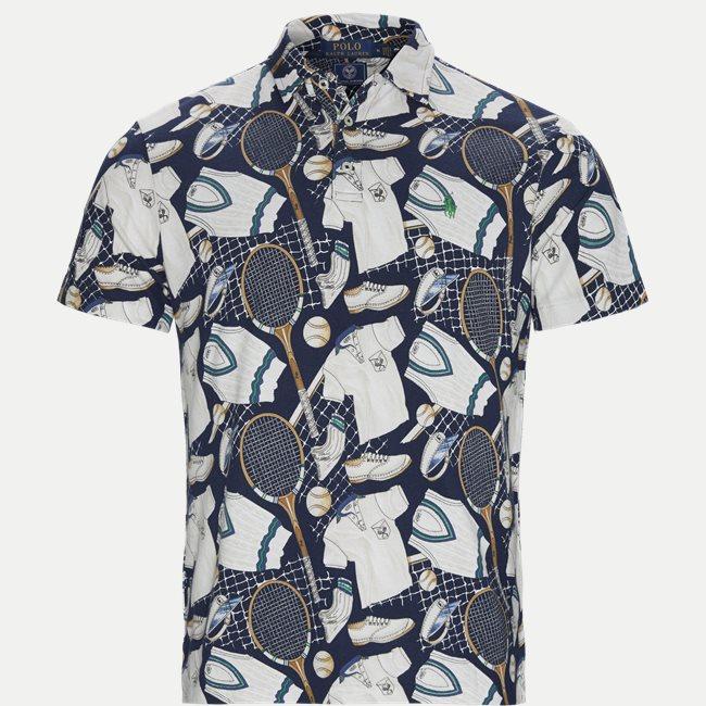 Wimbledon Ret Multi Polo T-shirt